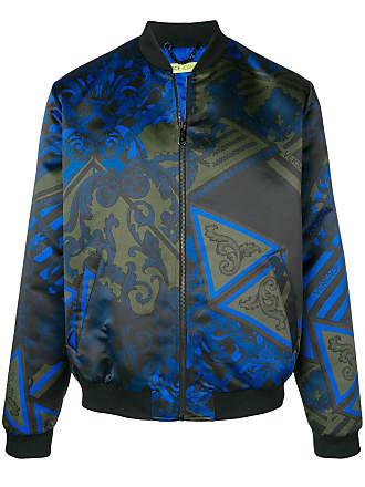 Versace Jeans Couture veste bomber à imprimé baroque - Vert 48b146aebe2