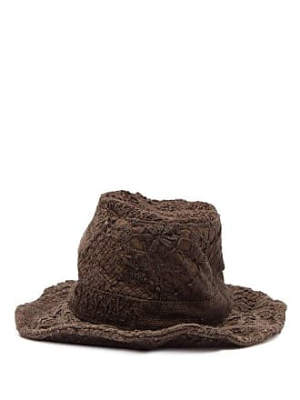 79e7afb2f1257f By Walid Firas French Crochet Cotton Hat - Womens - Brown