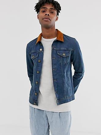 HUF Brooklyn Jeansjacka Man Ljusblå Denim Kläder Jackor