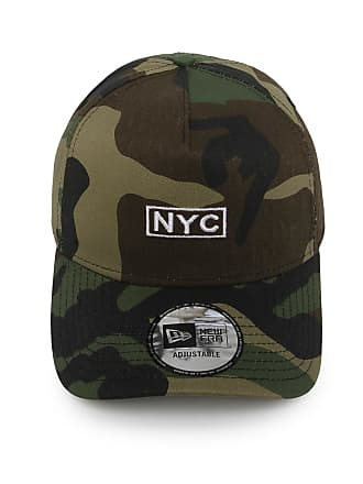 40ff3edfb180f New Era Boné New Era Snapback NYC Woodland Camo Verde