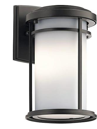 Kichler 49686LED Toman Single Light 10 Tall LED Outdoor Wall Sconce