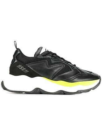 Msgm Sneakers con suola spessa - Di Colore Nero 6feb8f237ea
