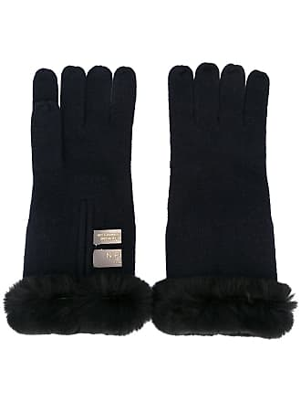 N.Peal cashmere gloves - Azul