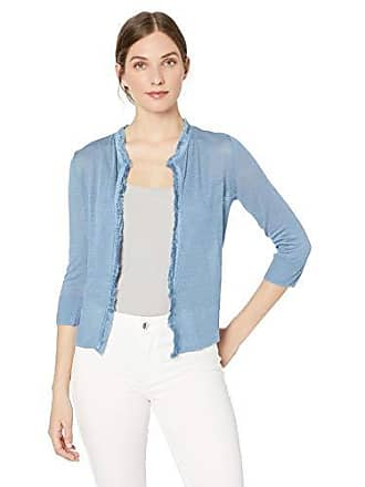 Nic+Zoe Womens New View Cardy, Blue chill Extra Large
