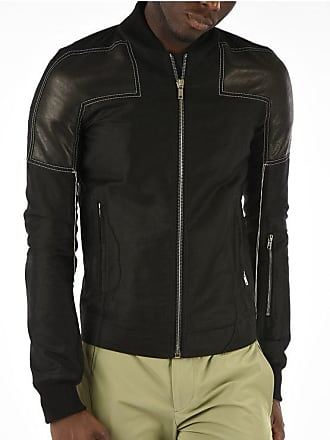 Rick Owens Bomber SISY ROTTERDAM with Leather Details size 54