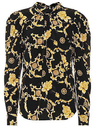 Veronica Beard Mena printed stretch-silk blouse