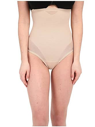 46539adc8d383 Miraclesuit Shapewear Sheer Extra Firm Shaping High Waist Thong (Nude)  Womens Underwear