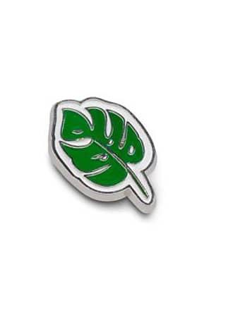 Jansport Monstera Leaf Pin - No Color