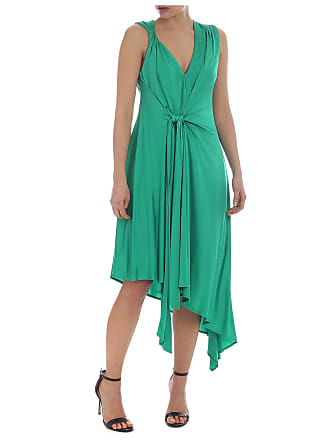 41706ceef746 Pinko Abito Aylin verde smeraldo smanicato