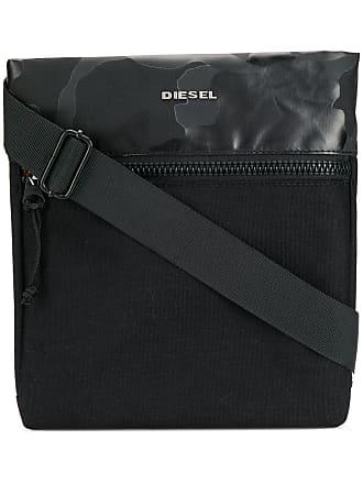 Diesel medium messenger bag - Black