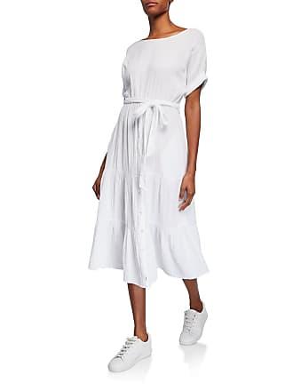Xirena Aeryn Gauze Tiered Tie-Waist Midi Dress