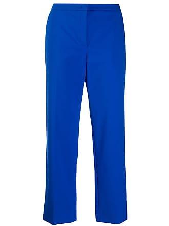 Escada cropped flared trousers - Azul