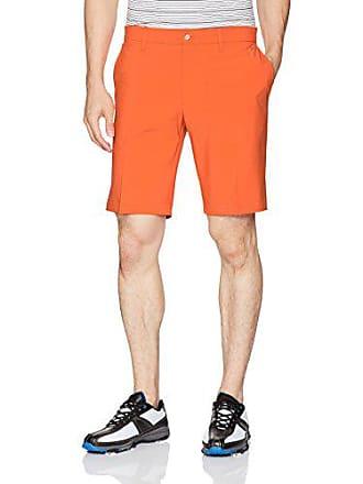 J.Lindeberg Mens Eloy Micro Stretch Shorts, Racing Orange 36
