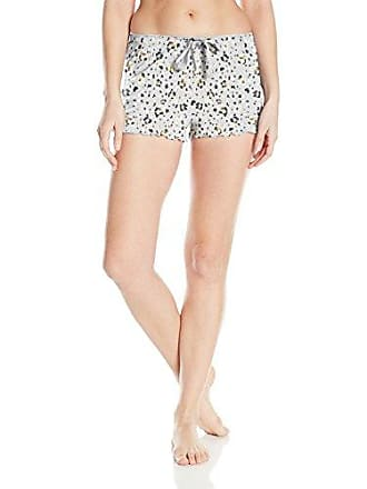 PJ Salvage Womens All Tied Up Shorts, Light Grey, S