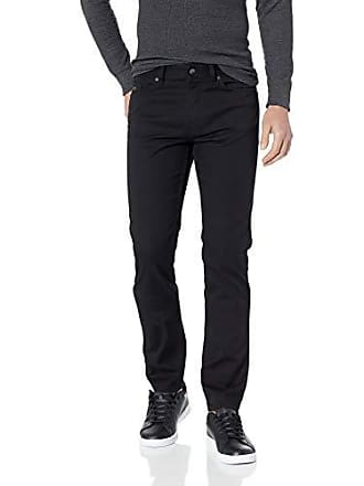 63363701 HUGO BOSS BOSS Mens Delaware Slim Fit Stretch Jeans, Black 3232