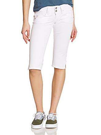 1a182d215894 Pepe Jeans London Venus Crop Jeans, Bianco (White), W28 (Taglia Produttore