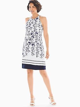 0b16882fdd02 Soma Swing Bra Dress Villa Vine Plcmt White, Size XXL