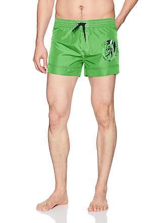 2ba336ffac Diesel Mens Sandy Mohican Logo Swim Short Trunks, Green, Small