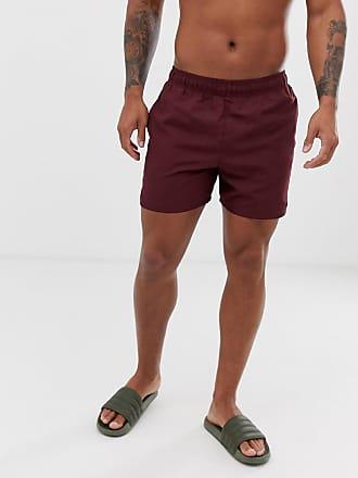 6bd1d7a45e Nike Nike Volley Super Short Swim Short In burgundy NESS9502-606