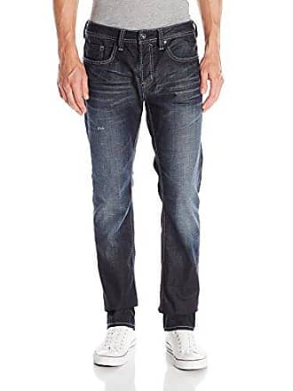1acbcfa0 Buffalo David Bitton Mens Evan Slim Fit Jean in Dark and Worn, 40x34