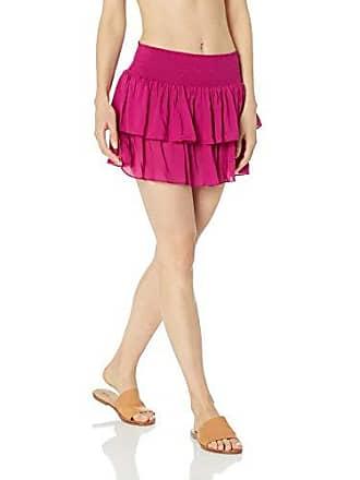 Ramy Brook Womens Sibyl Skirt, Pink, Medium