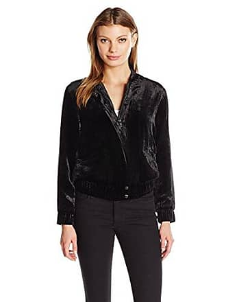 Joe's Womens Lexi Crop Jacket, Black, L