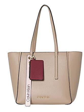 cf25e4e1ca Calvin Klein Jeans Ck Base Medium Shopper, Sacs portés épaule femme, Marron  (Tobacco