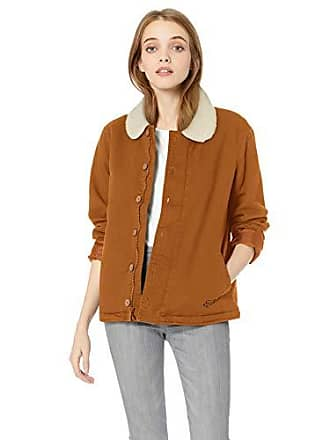 Fox Juniors N1 Sherpa Lined Stretch Twill Jacket, Taupe, L