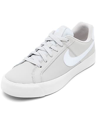 Nike Tênis Couro Nike Sportswear Court Royale Ac Cinza