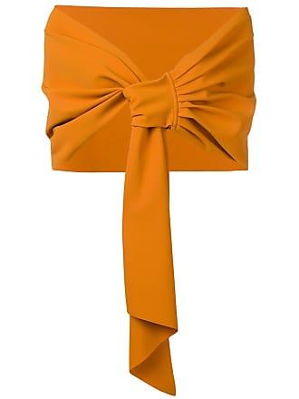 La Petite Robe Di Chiara Boni sheer scarf - Orange