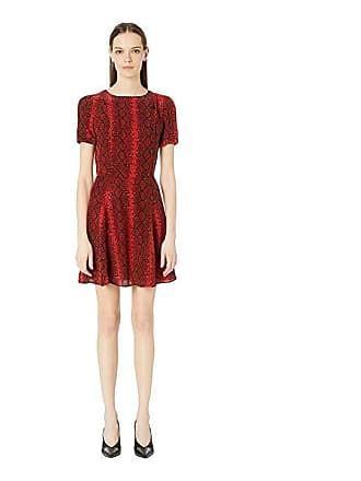 df6fd727ae3 The Kooples Red Hot Snake Print Dress (Red) Womens Dress