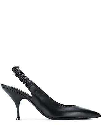21b03cefc9 Bottega Veneta Sapato bico fino com tira posterior - Preto