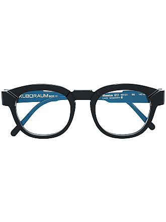 Kuboraum round glasses - Black