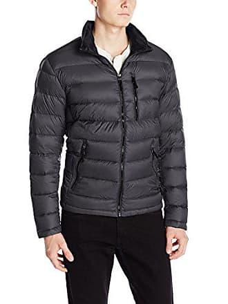 Calvin Klein Mens Packable Down Jacket, Titanium, X-Large
