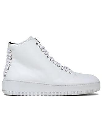 McQ by Alexander McQueen Mcq Alexander Mcqueen Woman Leather High-top Sneakers White Size 35
