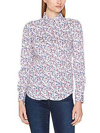 GANT Stretch Broadcloth Mini Floral Shirt, Chemise Femme, Blanc (White), 8 867721ed3f44