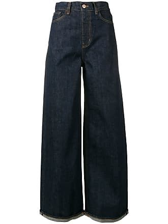 Ymc You Must Create Calça jeans pantalona - Azul