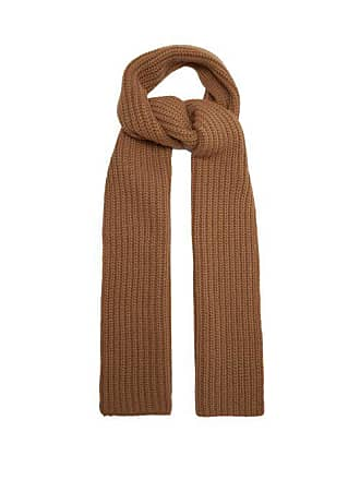 Joseph Heavy Weight Knit Scarf - Womens - Camel