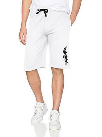 Zoo York Mens Athletic Knit Short, Tang White, Large