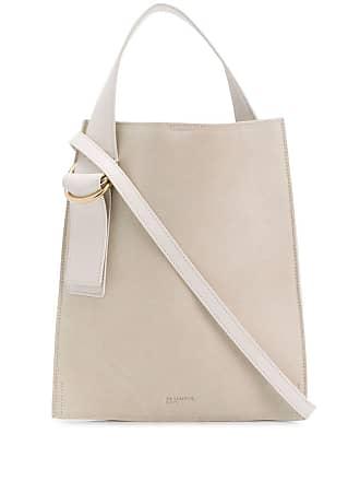 bb7a8cf05728 Jil Sander ring embellished tote bag - Neutrals