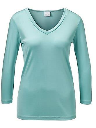 Madeleine Seide Seiden-Shirt mit 3 4-Ärmeln Damen mintgrün   grün ec01181fdc