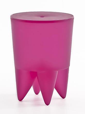 XO Design Bubu Ier Hocker - bubble gum/halbtransparent/H 43cm/Ø 32,5cm