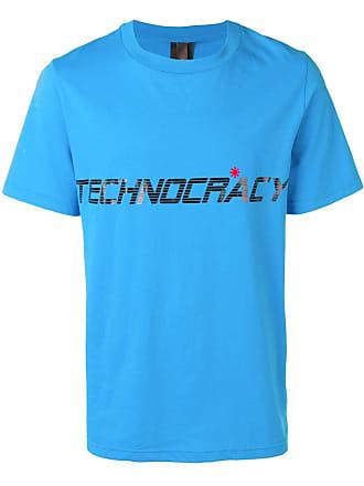 Omc Camiseta com slogan - Azul