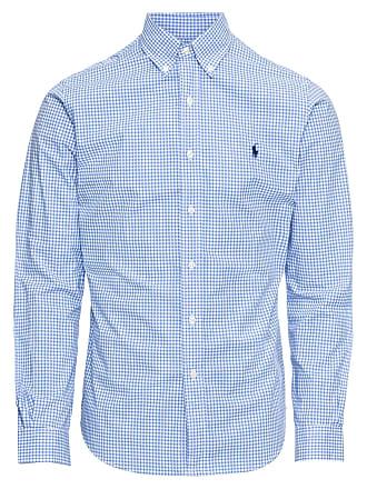 47cc4792f417c8 Ralph Lauren Hemd SL BD PPC SP-LONG SLEEVE-SPORT SHIRT blau   weiß
