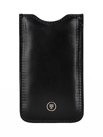 Maxwell Scott Maxwell Scott - Luxury Black Leather iPhone 6 Case