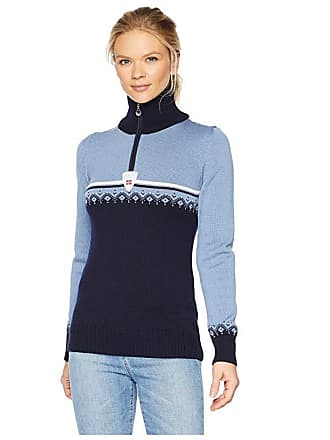 Dale of Norway Lahti Sweater (D-Navy/Blue Shadow/Off-White) Womens Sweater