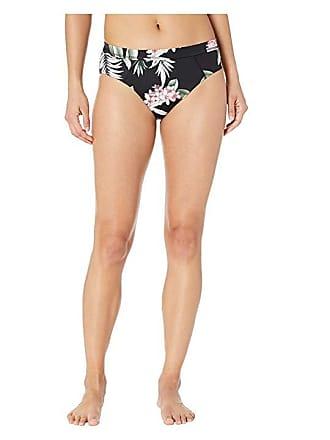 314b0406f8 Tommy Bahama Active Reversible High-Waist Bottoms with Mesh (Black) Womens  Swimwear
