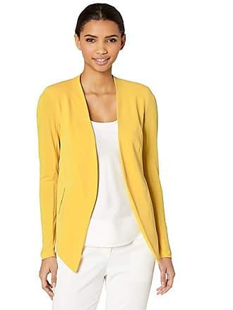0925a6492d4 BCBGeneration Tuxedo Knit Blazer (Yellow) Womens Jacket