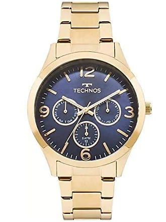 Technos Relógio Technos Feminino Ref: 6p29ajh/4a Multifunção Dourado