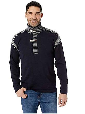 Dale of Norway Skog Sweater (C-Navy/Light Charcoal/Smoke) Mens Sweater